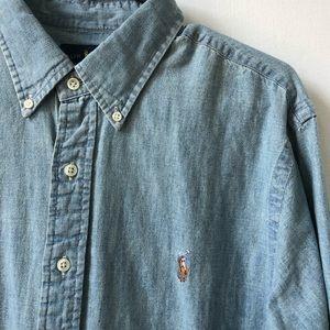 Polo Denim Button Up